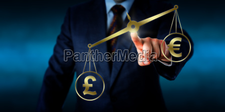 british pound sterling outweighing the euro