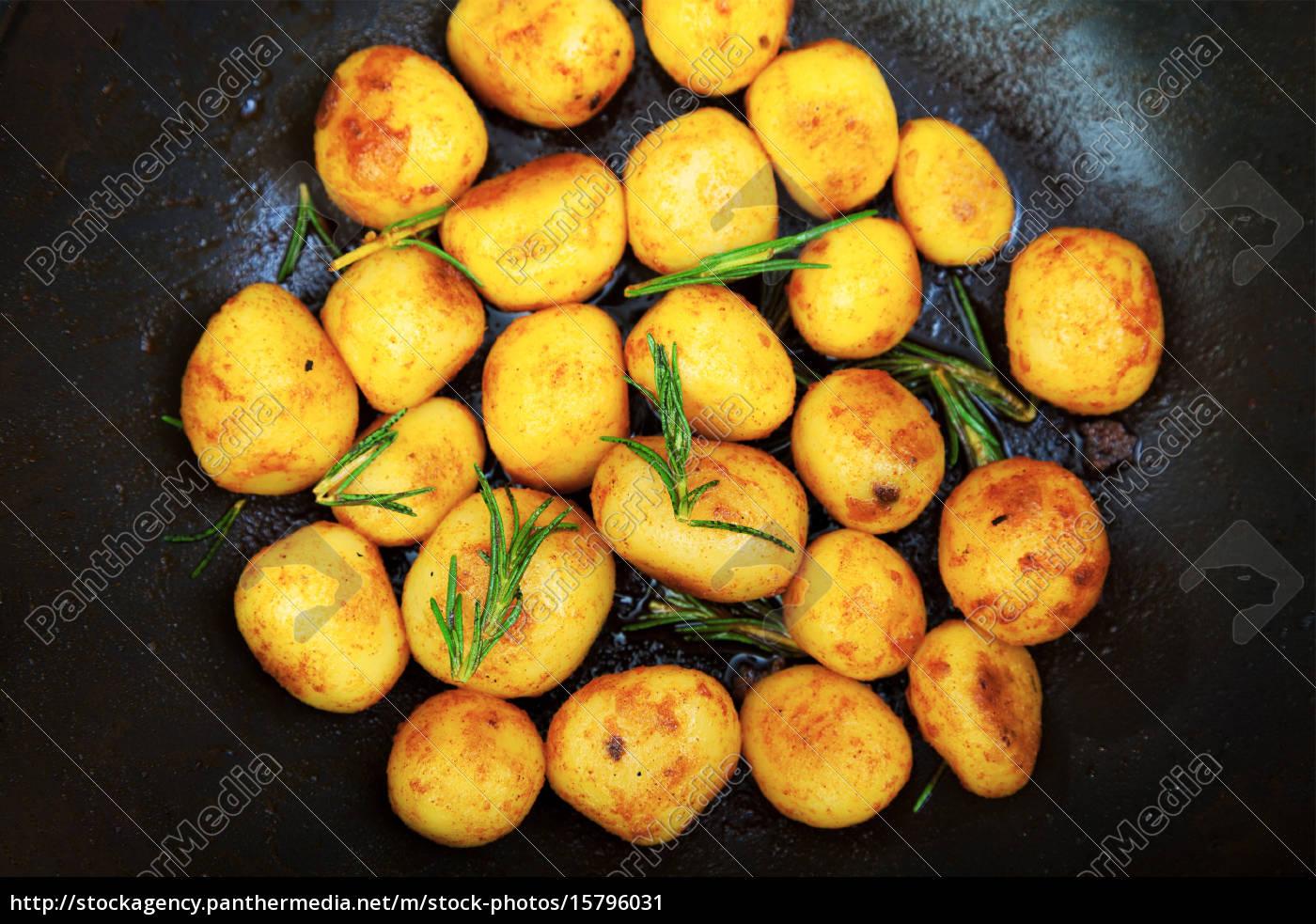 fried, baby, potatoes, fried, baby, potatoes, fried, baby - 15796031
