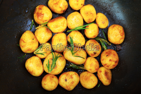 fried, baby, potatoes, fried, baby, potatoes, fried, baby - 15796031