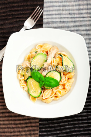 pasta, shell, with, zucchini, pasta, shell, with - 15796029
