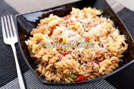 pasta, with, rabbit, and, white, wine, pasta - 15796103