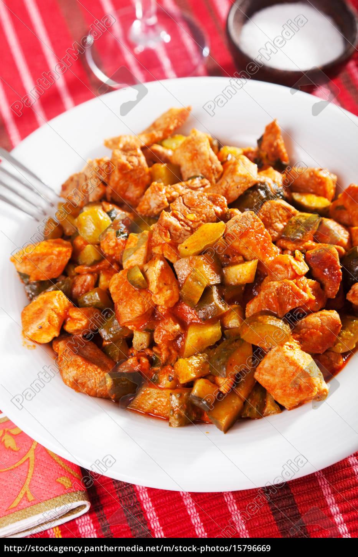pork, and, vegetables, stew, pork, and, vegetables - 15796669