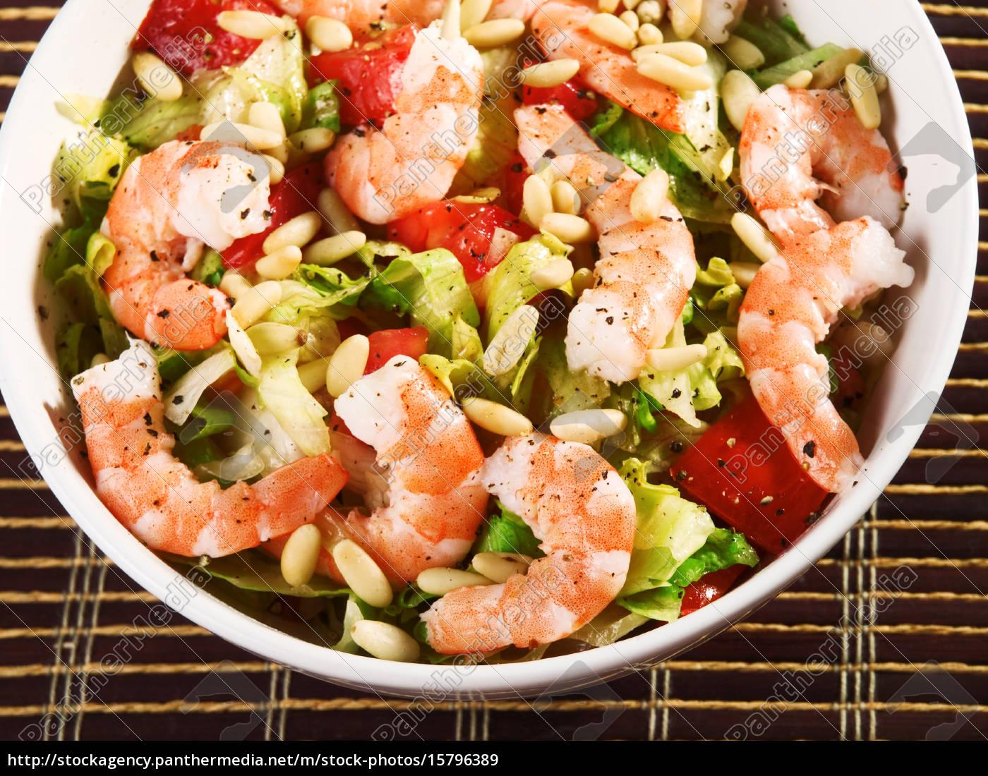 shrimps, salad, shrimps, salad, shrimps, salad, shrimps, salad, shrimps, salad, shrimps - 15796389