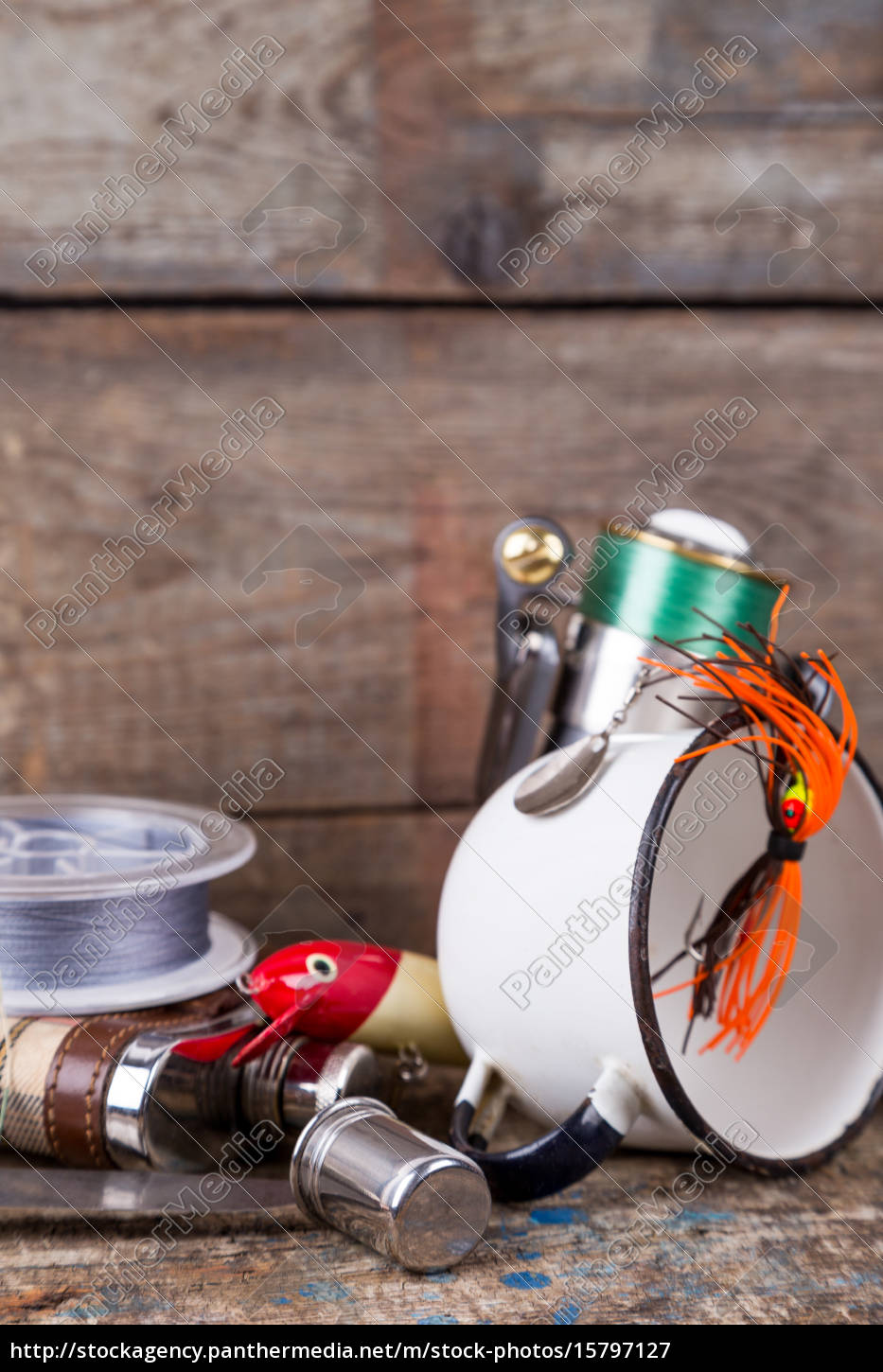 fishing, tackles, , baits, , line, with, flask, - 15797127