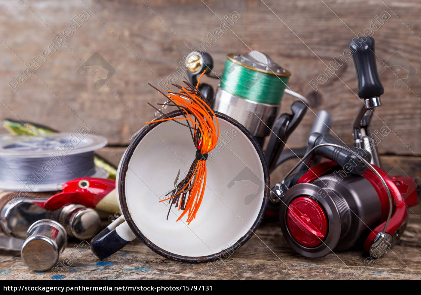 fishing, tackles, , baits, , line, with, flask, - 15797131