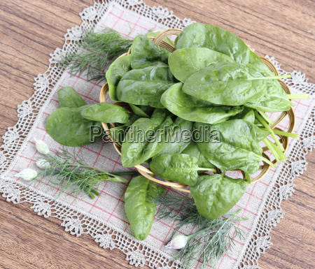 fresh, spinach, leaves - 15797135