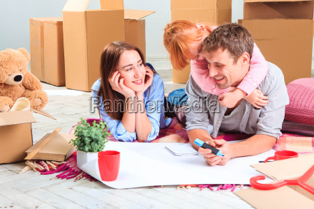 the, happy, family, , during, repair - 15797861