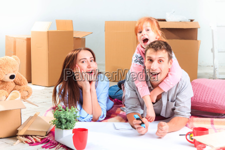 the, happy, family, , during, repair - 15797867