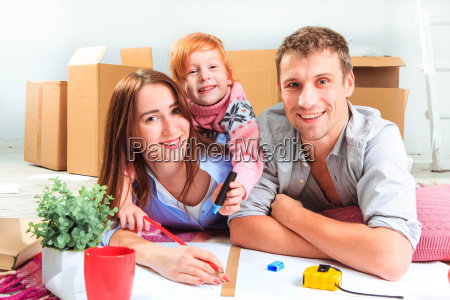the, happy, family, , during, repair - 15797879