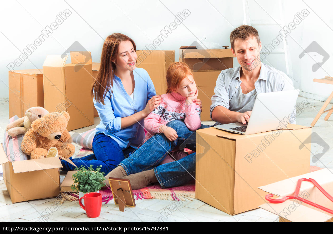 the, happy, family, , during, repair - 15797881