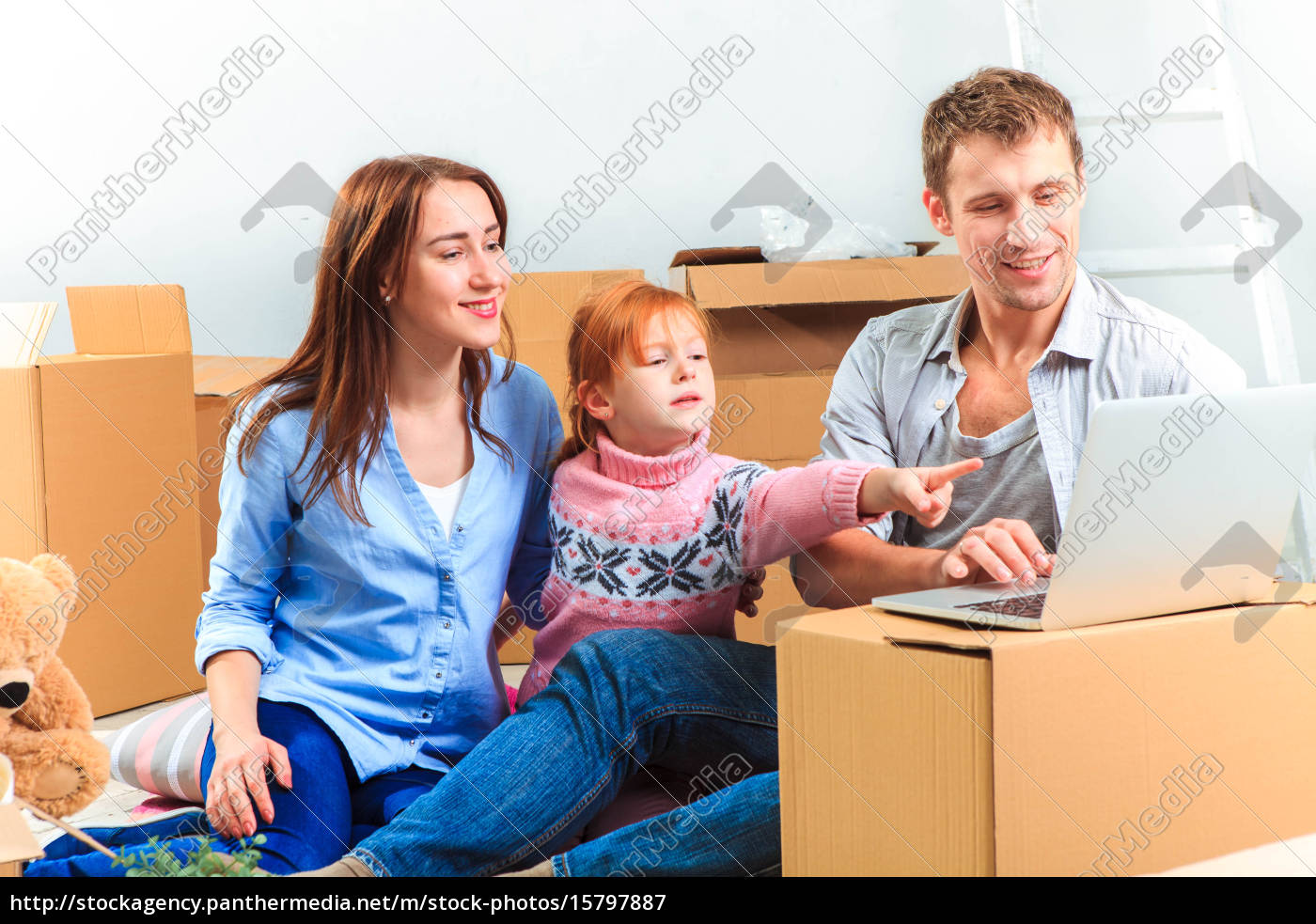 the, happy, family, , during, repair - 15797887