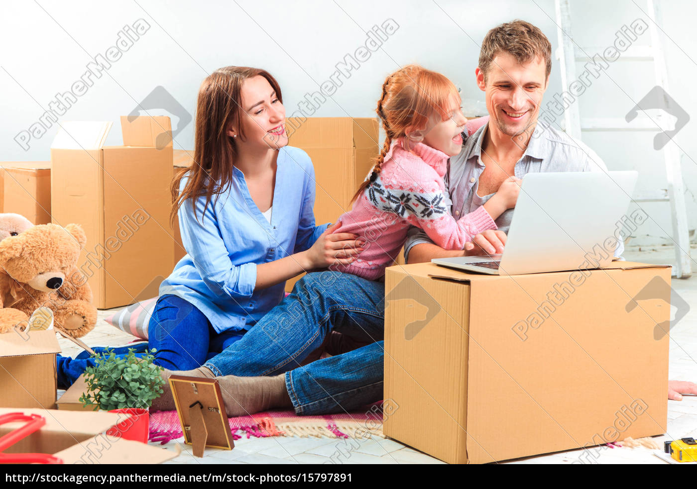 the, happy, family, , during, repair - 15797891