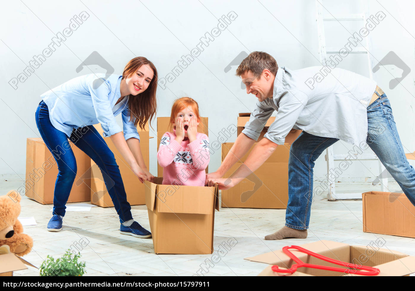 the, happy, family, , during, repair - 15797911