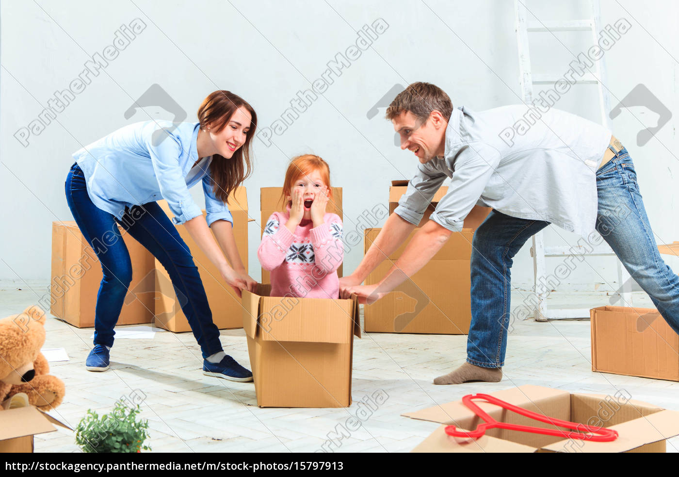 the, happy, family, , during, repair - 15797913