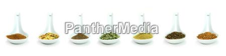 ceramic, spice, spoons - 15798963