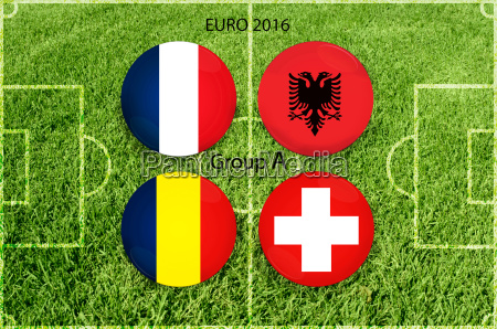 euro, cup, group, a - 15798981