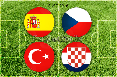 euro, cup, group, d - 15798993