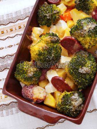 brocolli, and, potato, casserole, brocolli, and, potato - 15801601