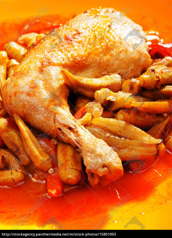 chicken, with, okra, chicken, with, okra, chicken, with - 15801003