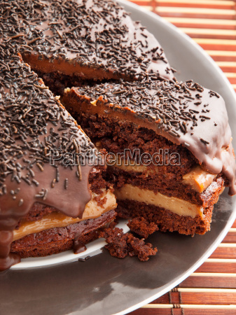 homemade, chocolate, cake, homemade, chocolate, cake - 15801607