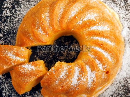 homemade, vanilla, cake - 15801323