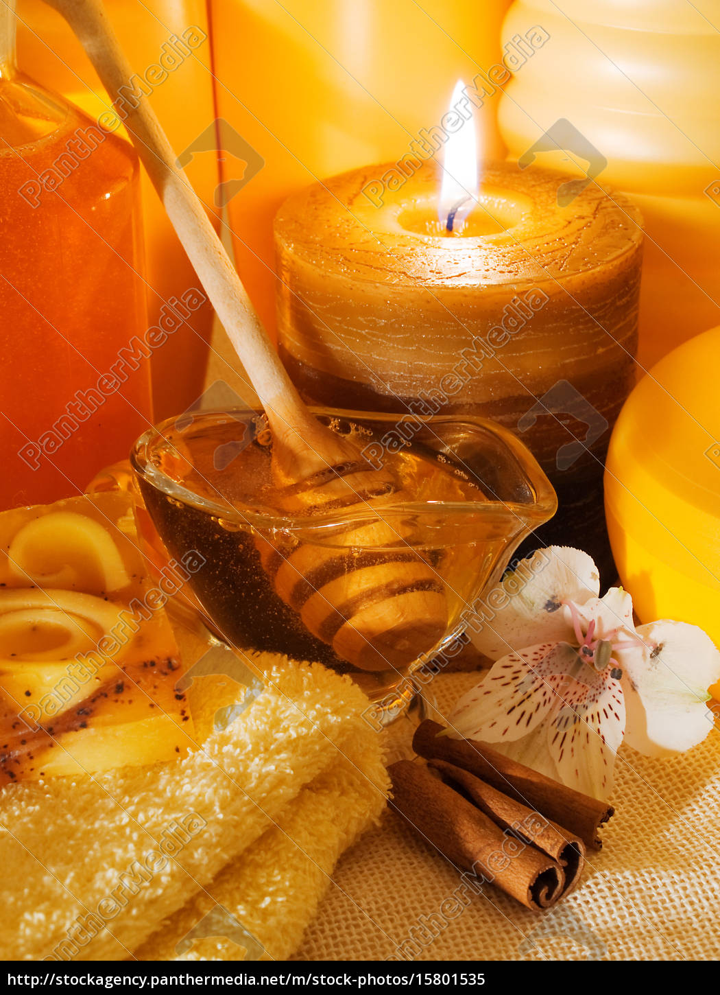 honey, spa, products - 15801535