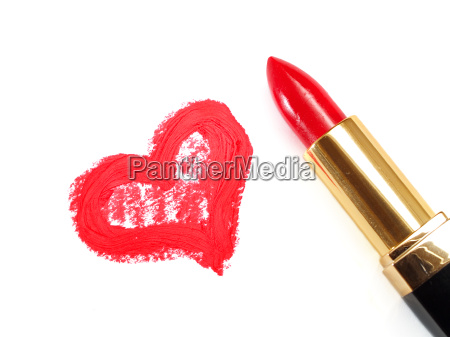 lipstick, and, heart - 15801735