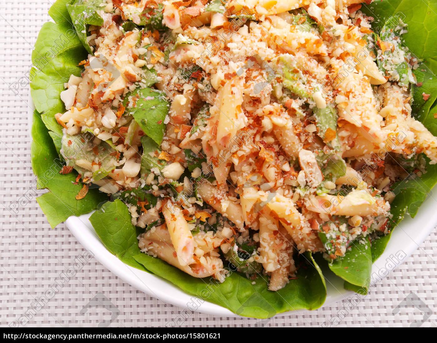 penne, salad, penne, salad - 15801621
