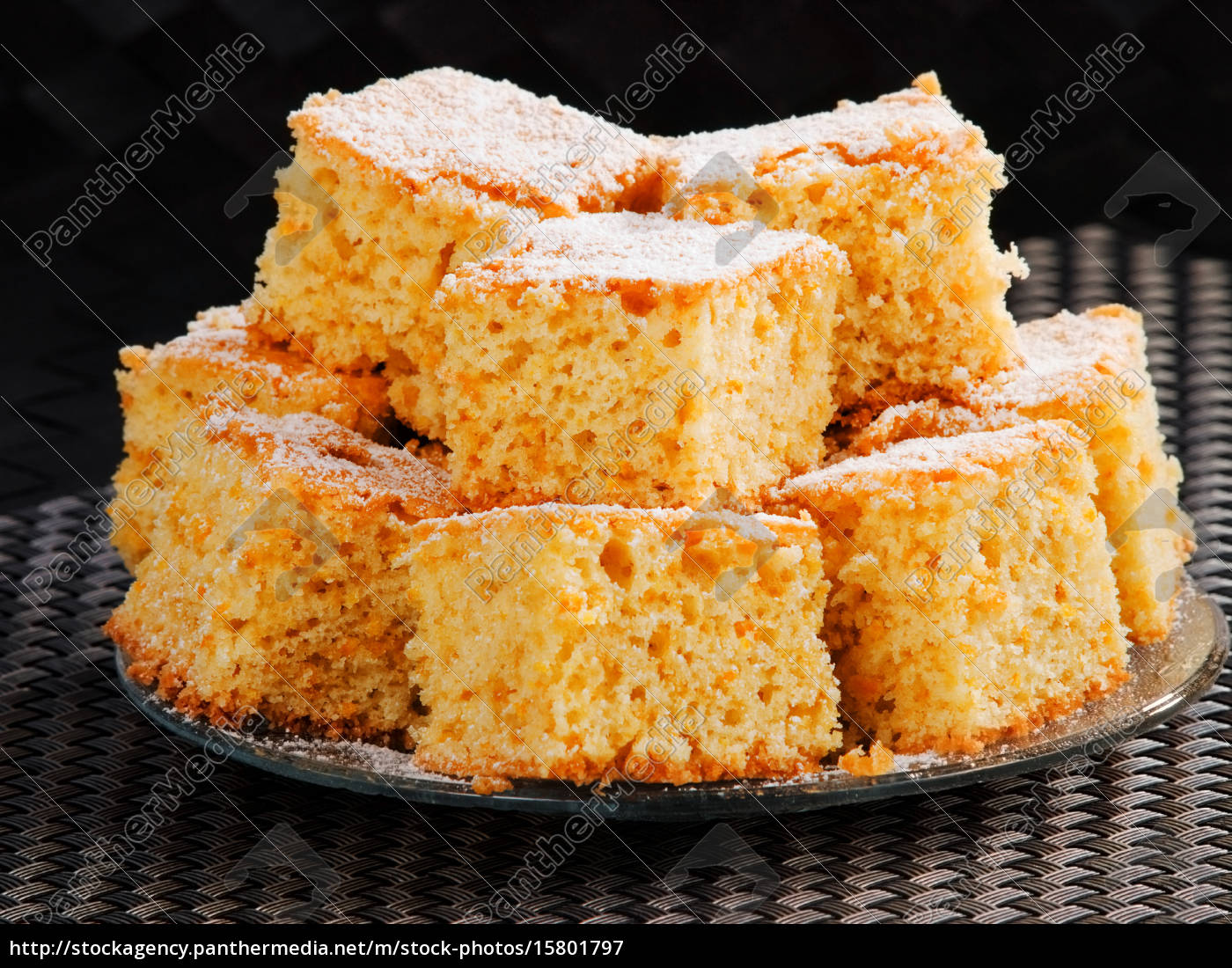 sweet, orange, cake - 15801797