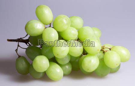 green grapes close up