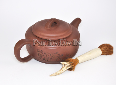 clay teapot for the tea ceremony
