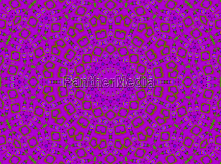 abstract geometric background seamless circle pattern