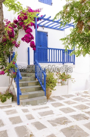 mykonos island architecture greece