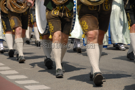 costume upper bavaria traditions leather trousers