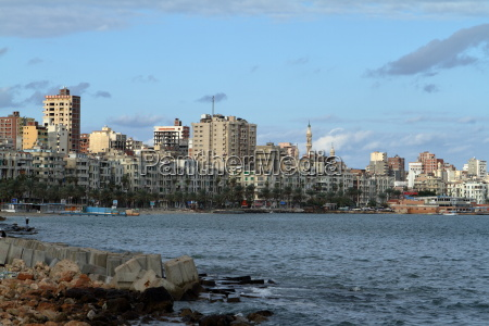 the city of alexandria in egypt