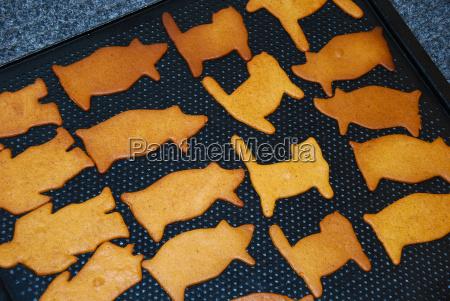 various gingerbread figures