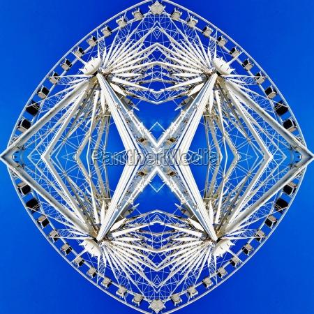 abstract ferris wheel