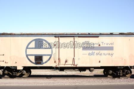 railroad wagon side view