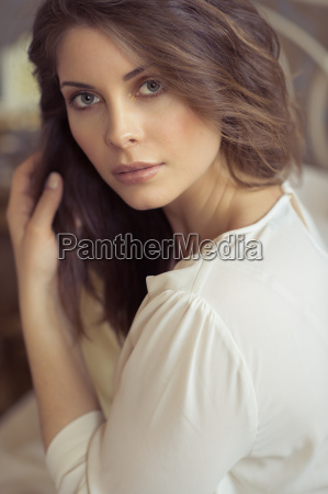 portrait of an attractive sensual woman