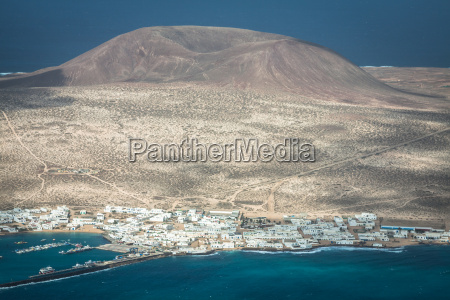 view of the part of graciosa