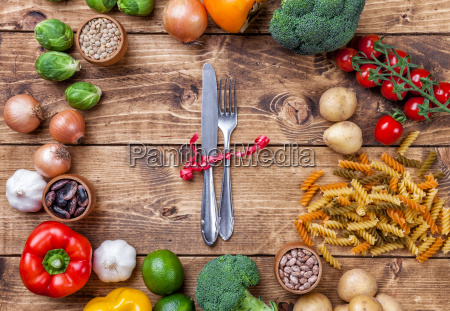 fresh and healthy organic vegetables and