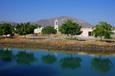 landschaft im oman vereinigte arabische emirate