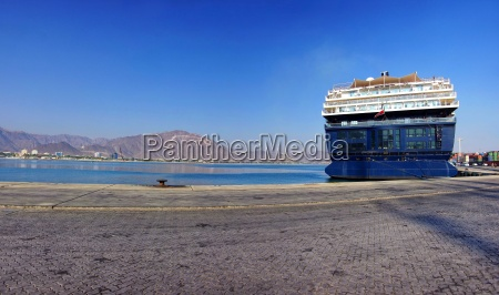 cruise ship in the united arab