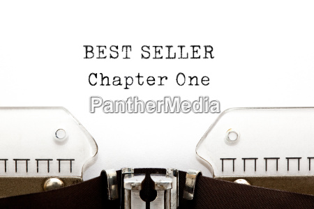 best seller chapter one typewriter