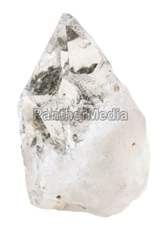 rock crystal clear quartz mineral stone