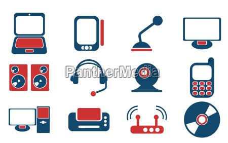 media simply symbols for web icons