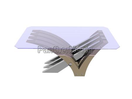 optional glass table