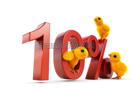 chicks 10 percent