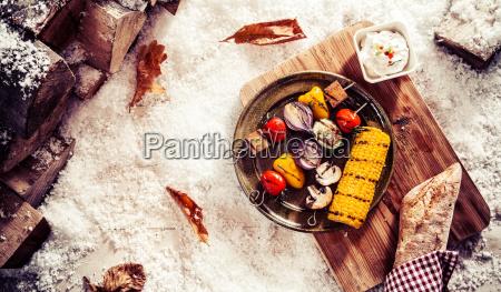 tasty vegetarian or vegan winter fare