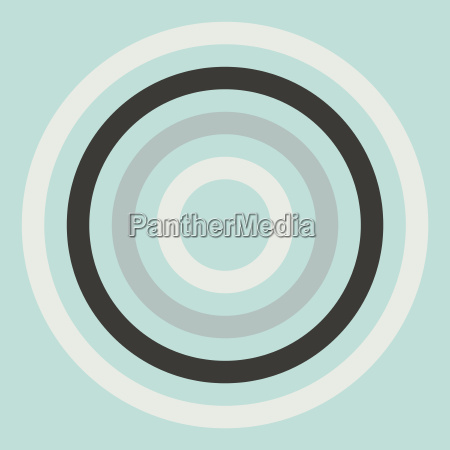 colorful abstract modern concentric circle texture